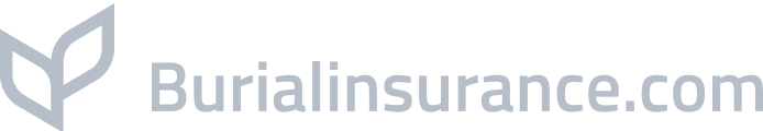 burial insurance logo in gray color